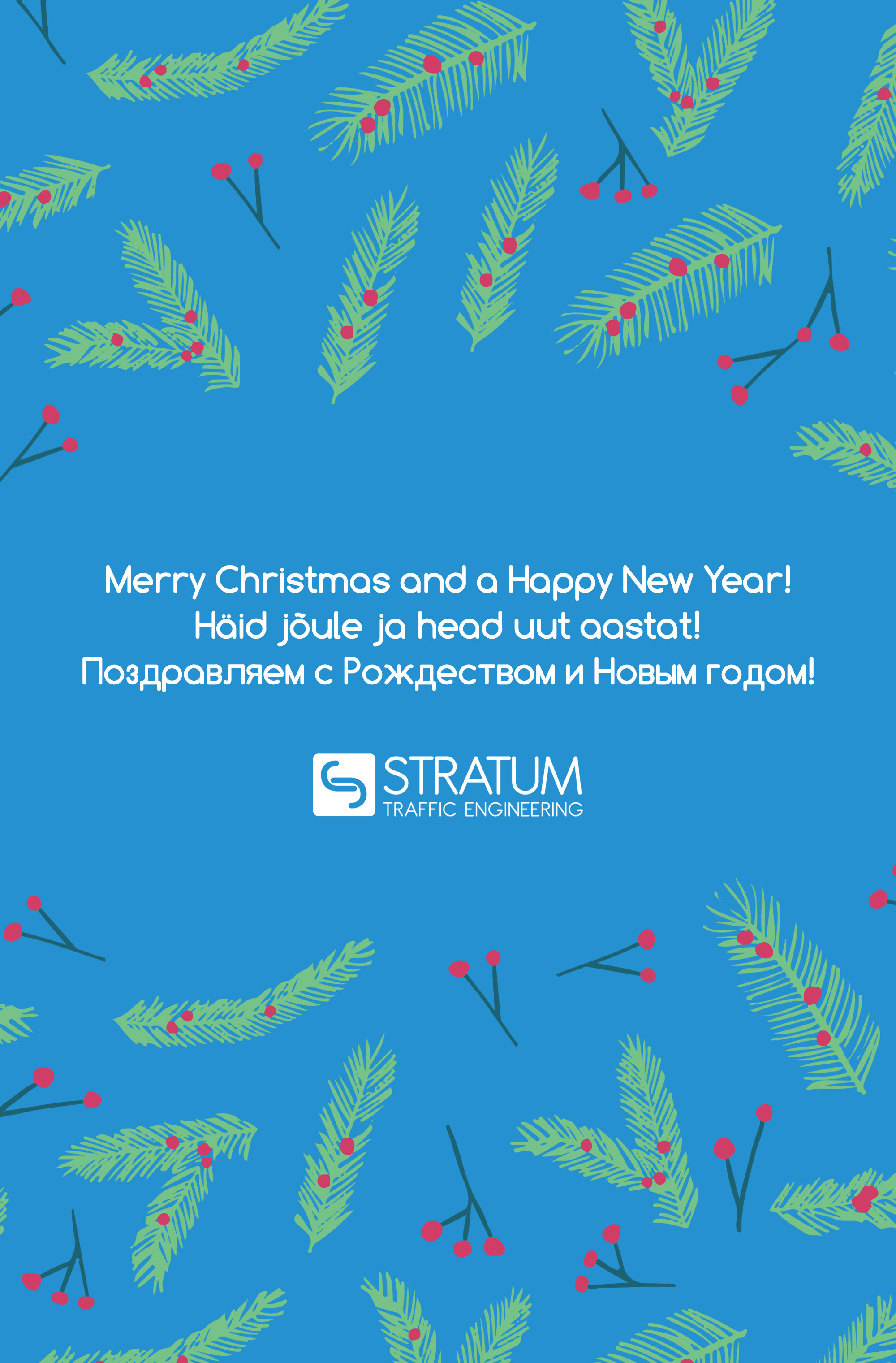 We Are Wishing You Merry Christmas And Happy New Year!